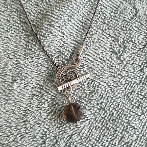 Silpada toggle clasp necklace
